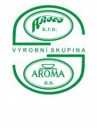 Logo Aroma Praha, a.s.