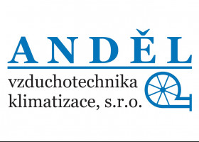 Logo ANDĚL vzduchotechnika klimatizace, s.r.o.